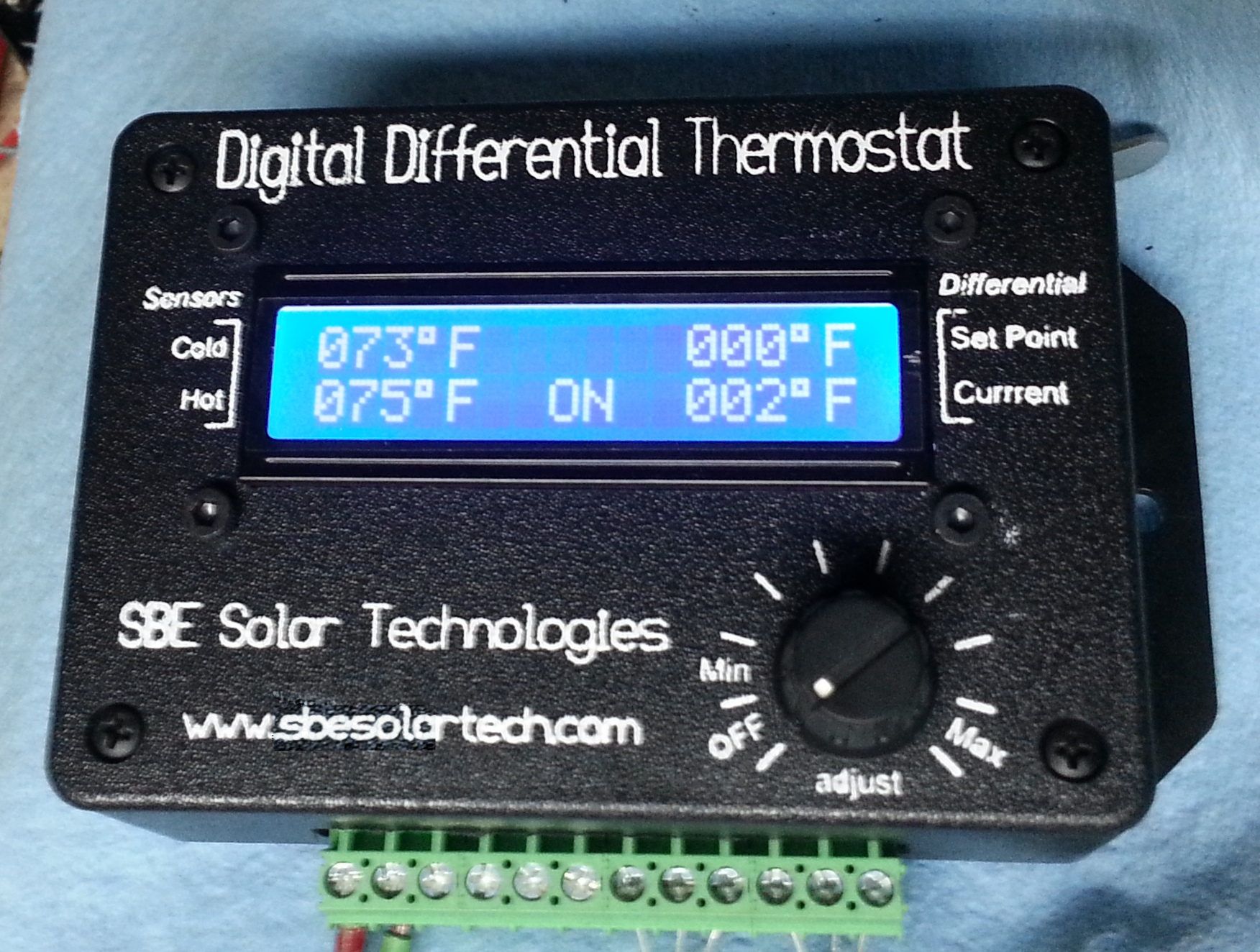 Sbesolartech Digital Differential Thermostats